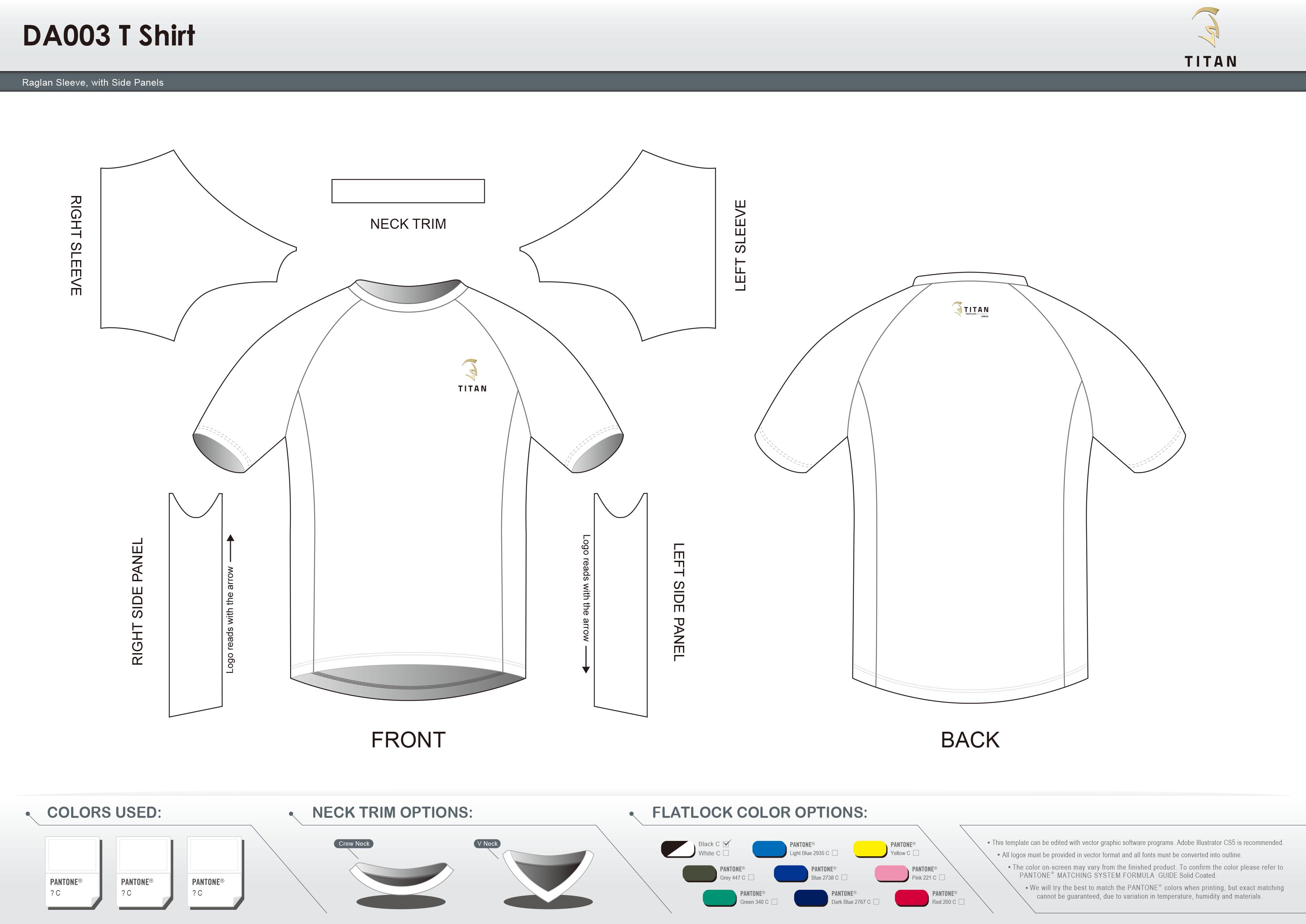 DA003 T Shirt