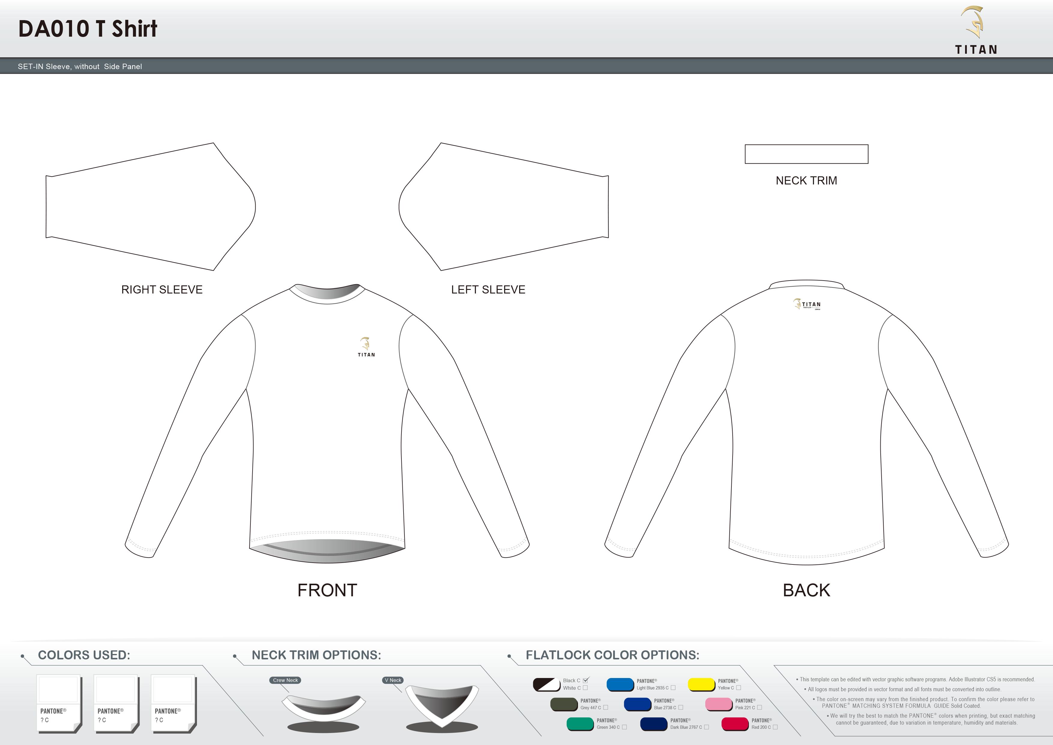 DA010 T Shirt