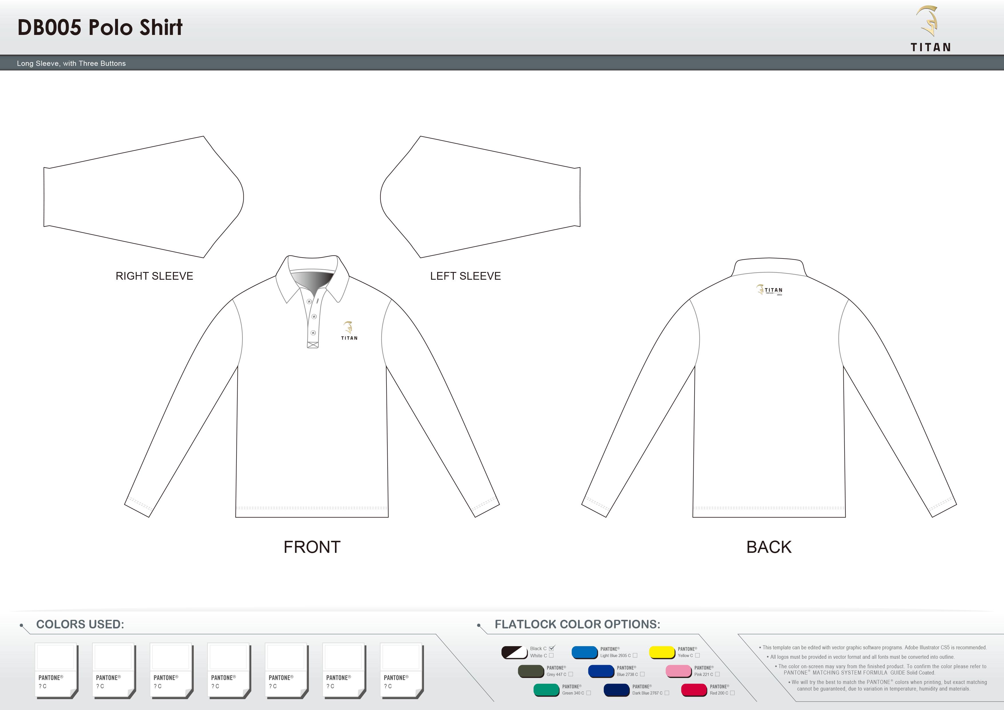 DB005 Polo Shirt