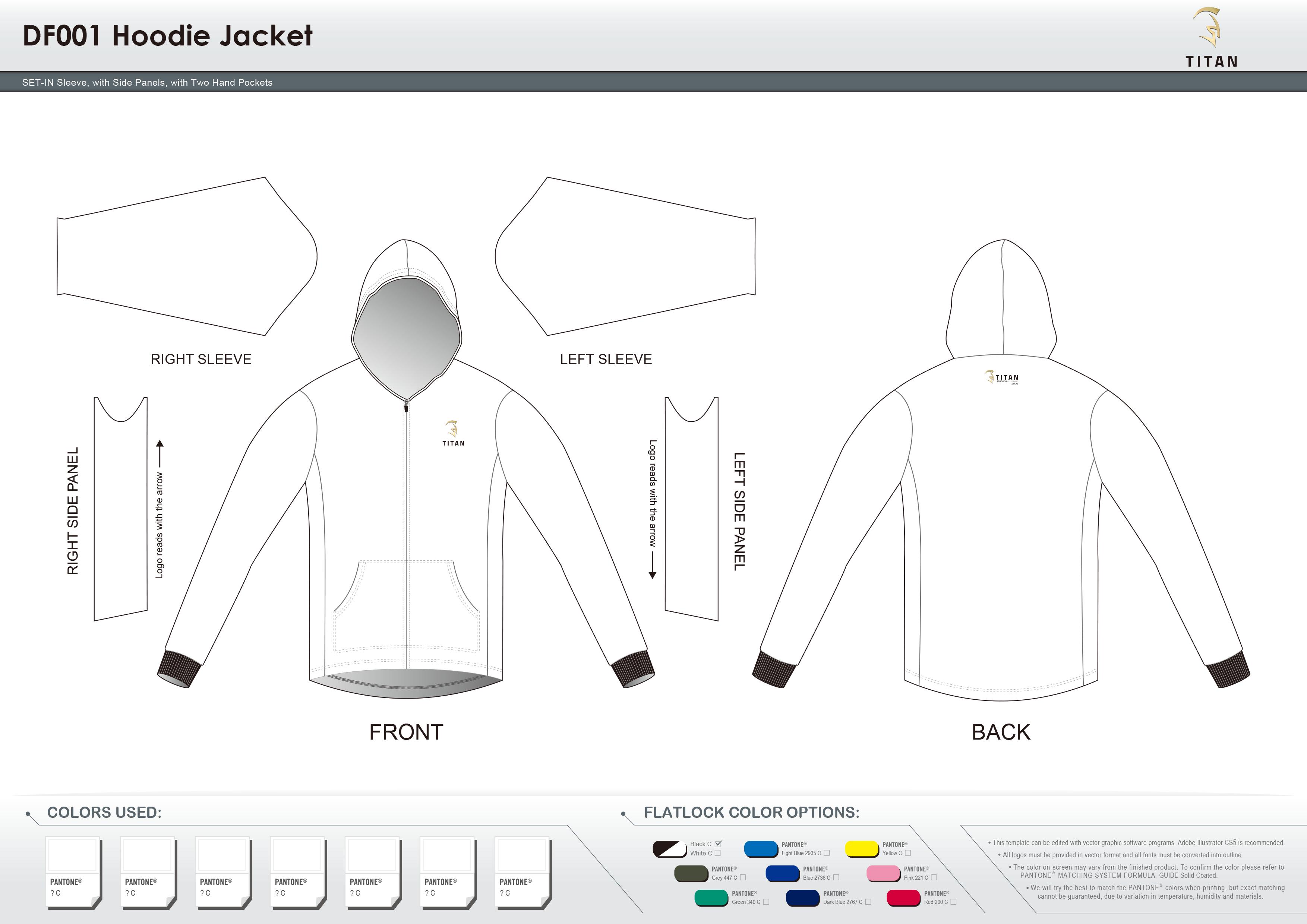 DF001 Hoodie Jacket