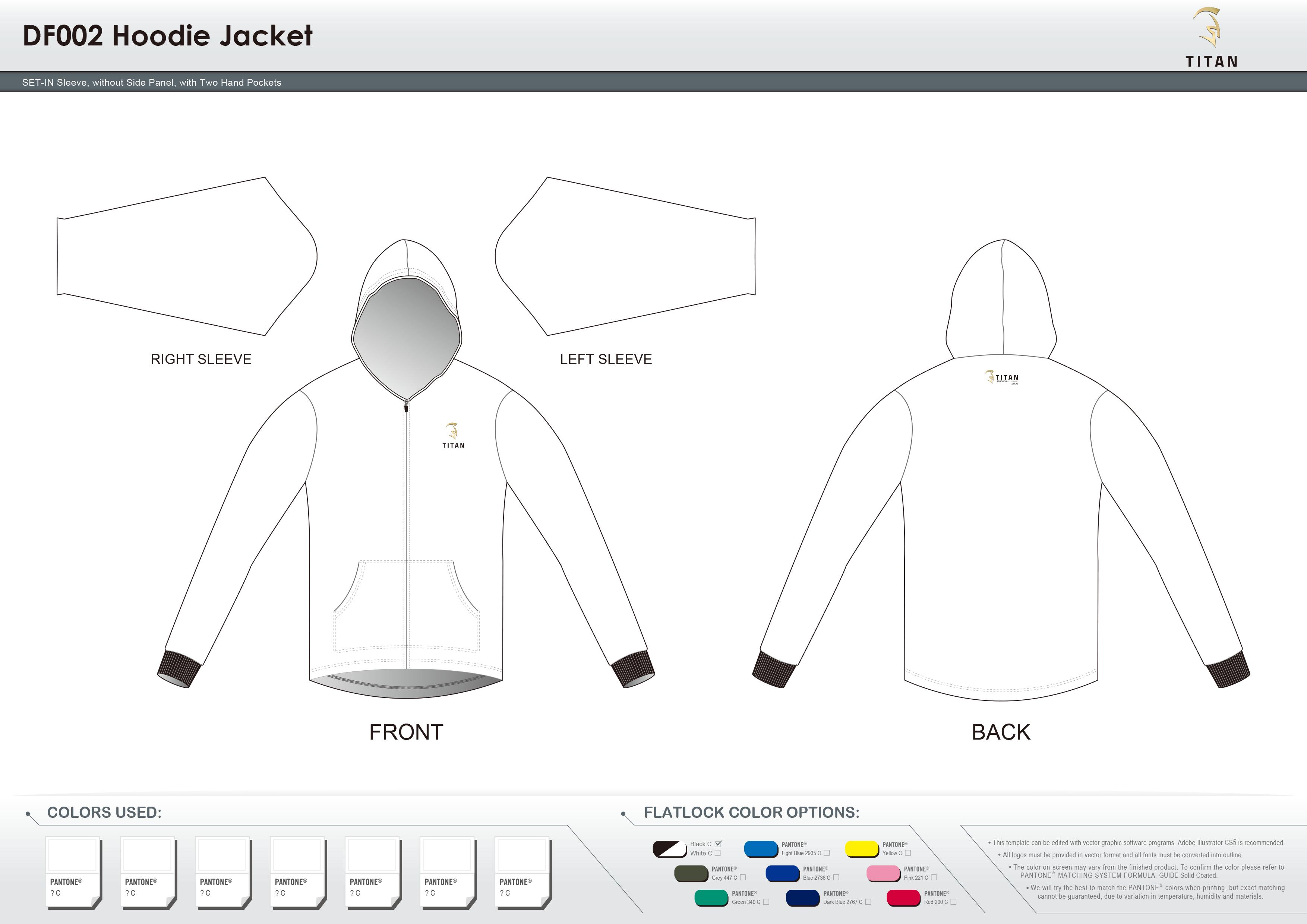 DF002 Hoodie Jacket