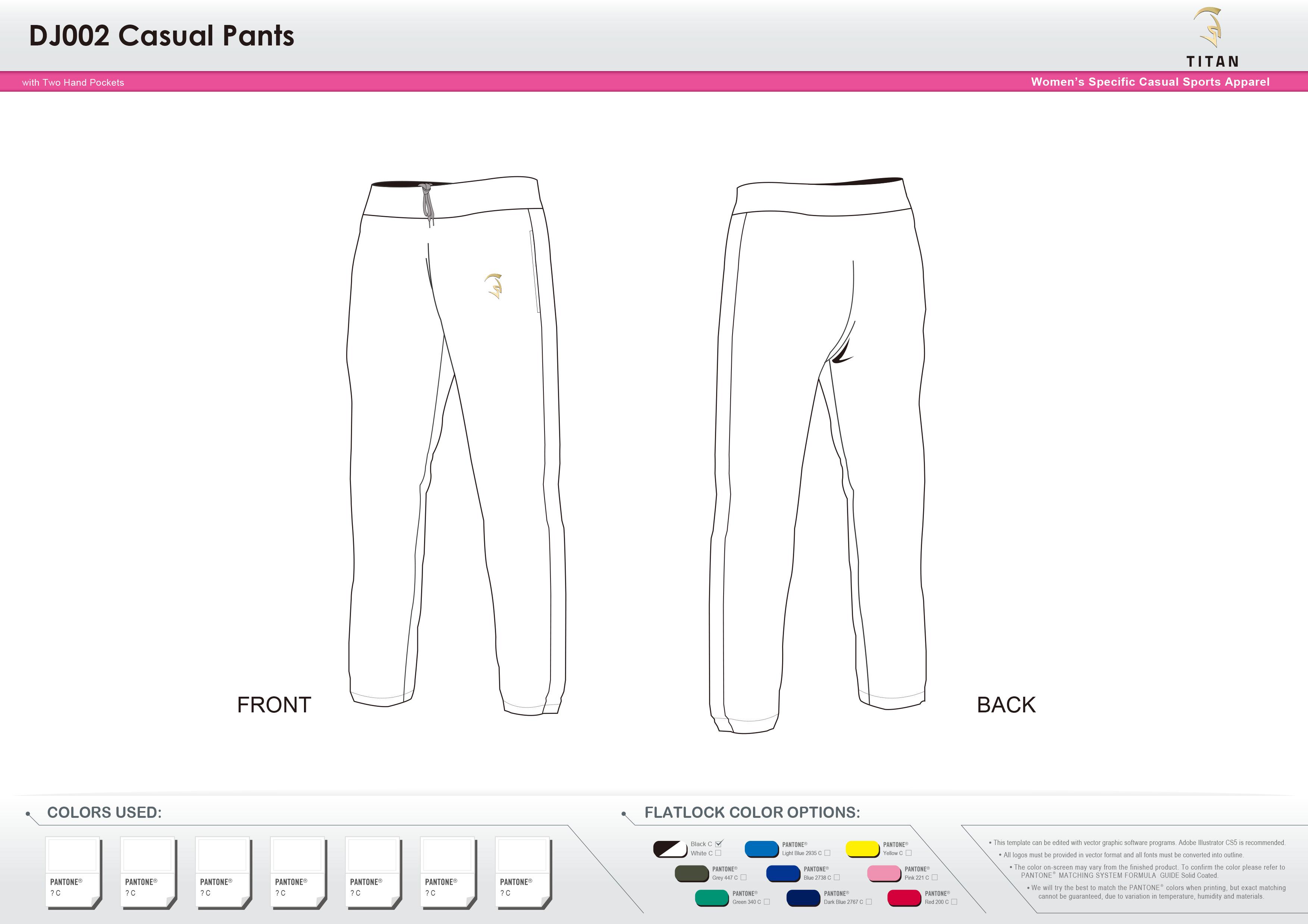 DJ002 Women's Casual Pants