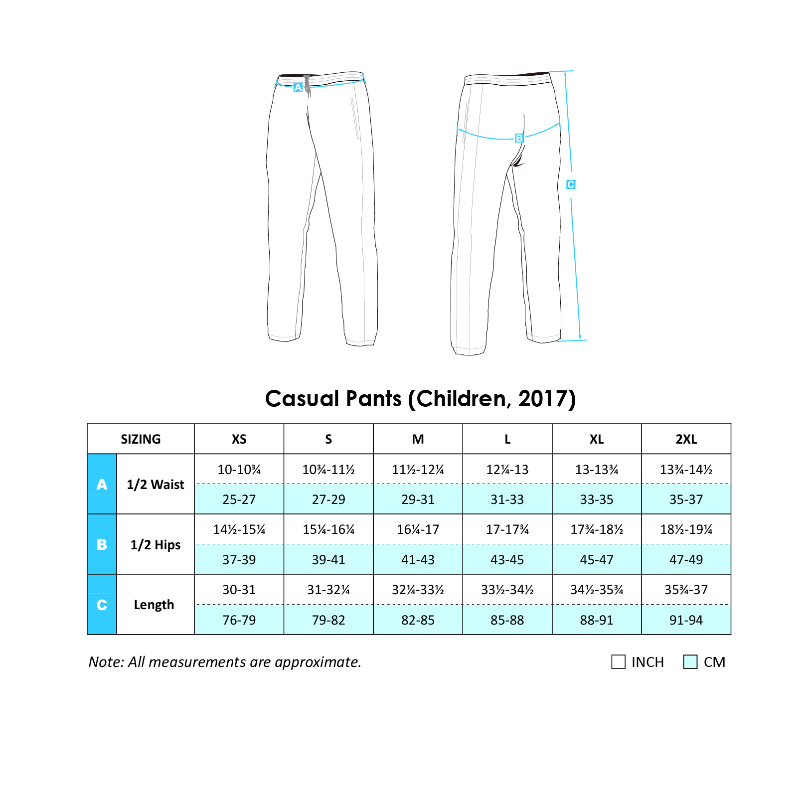 Casual Pants 2017