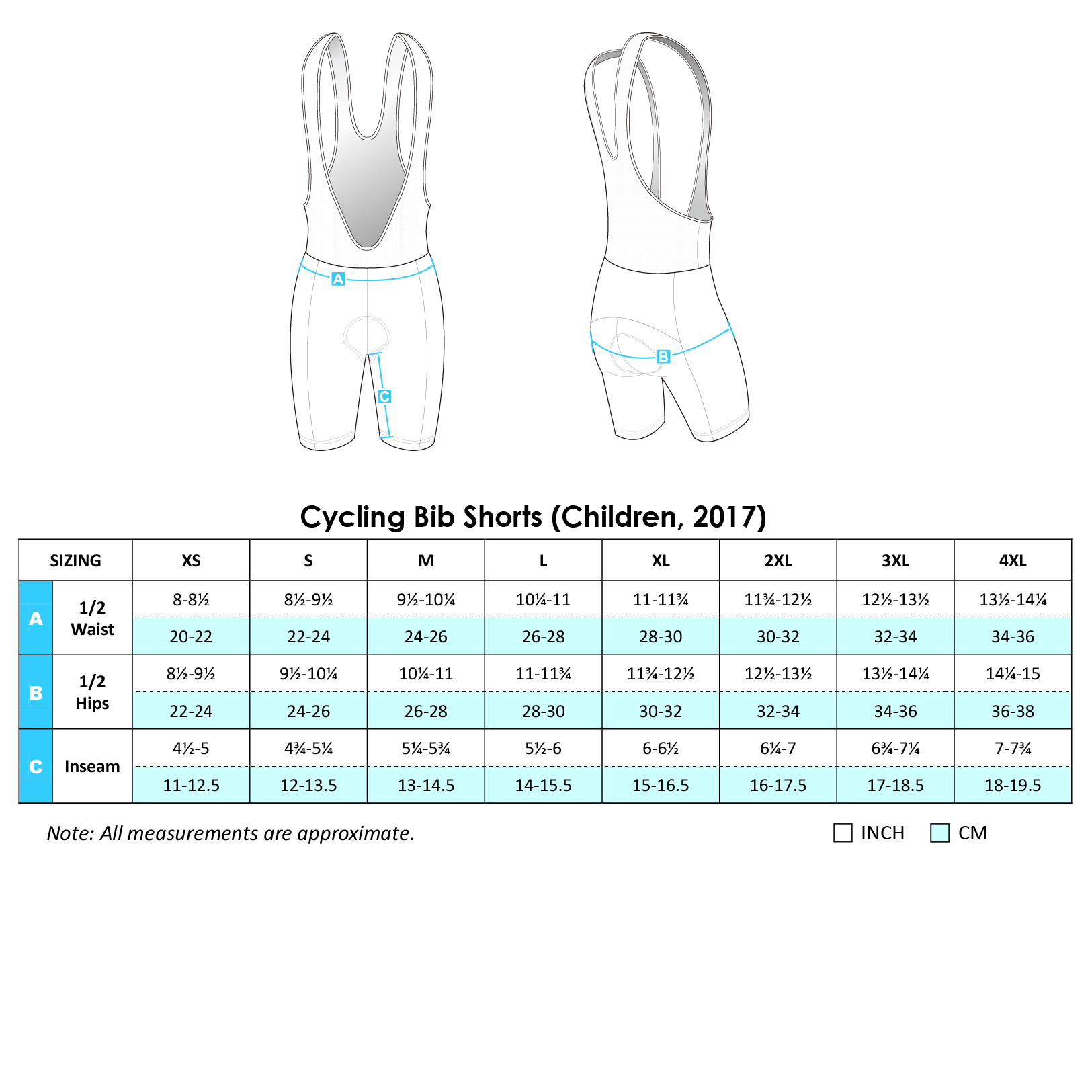 Cycling BiB Shorts 2017