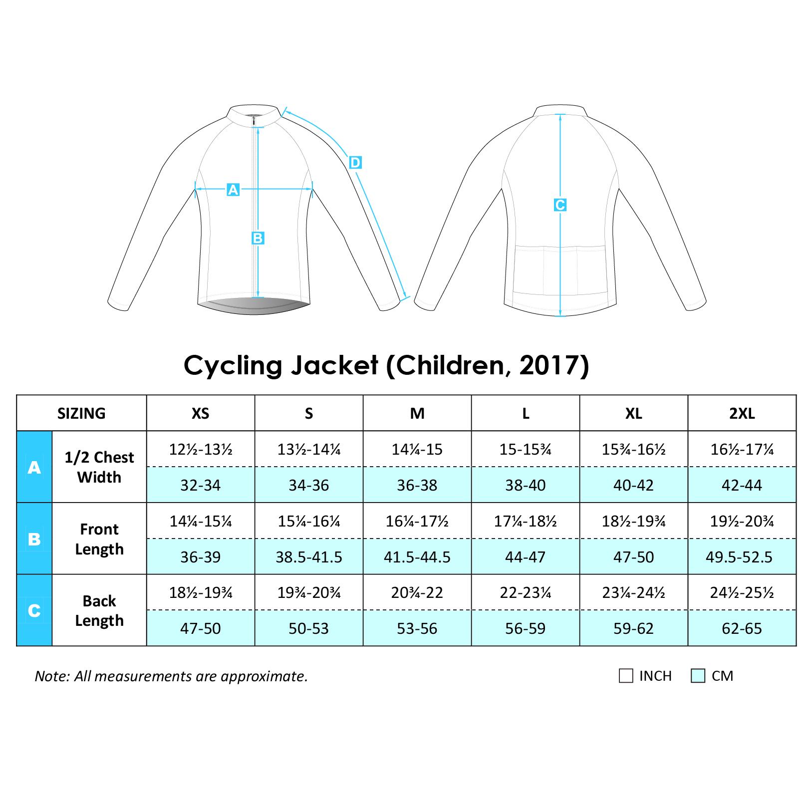 Cycling Jacket 2017