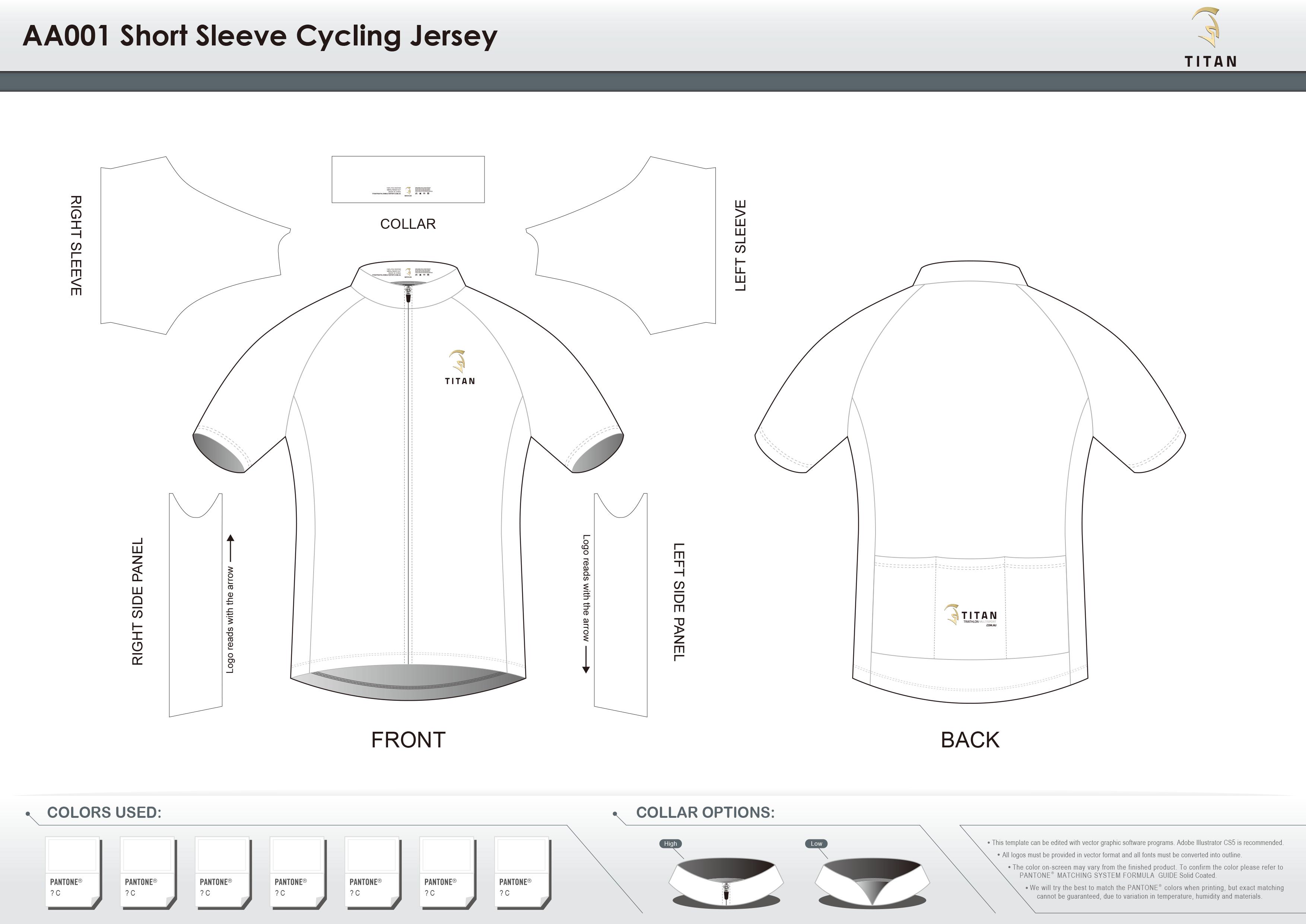 AA001 SS Cycling Jersey