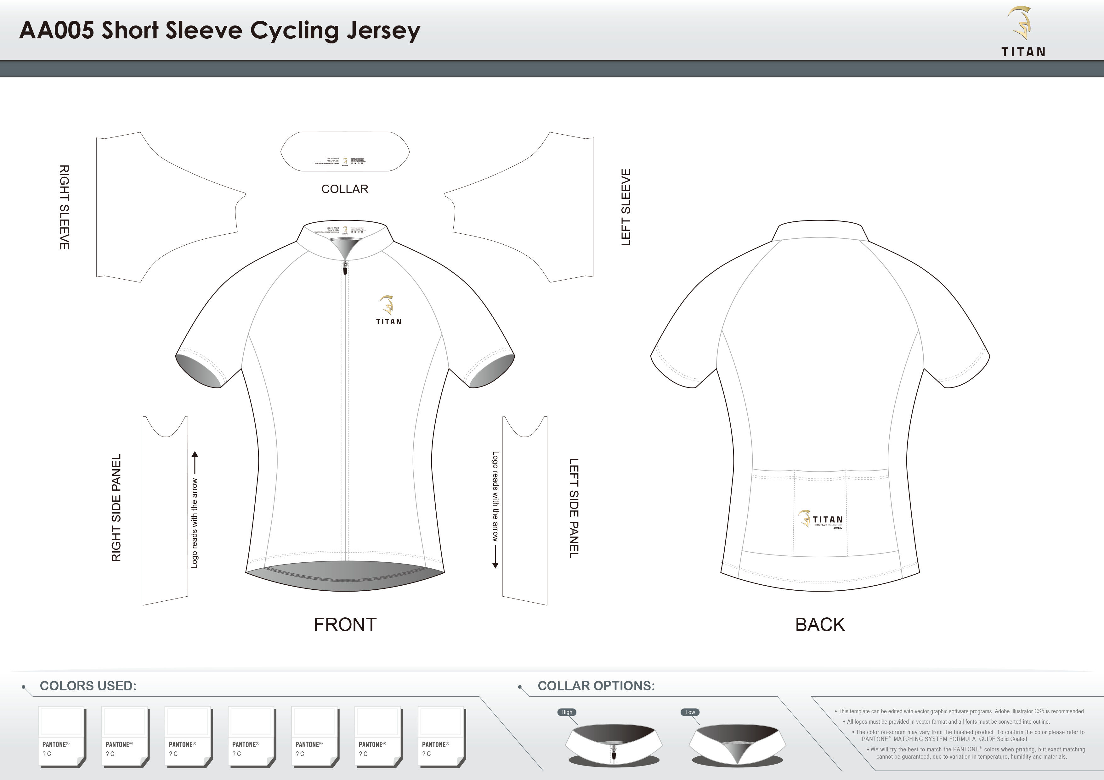 AA005 SS Cycling Jersey