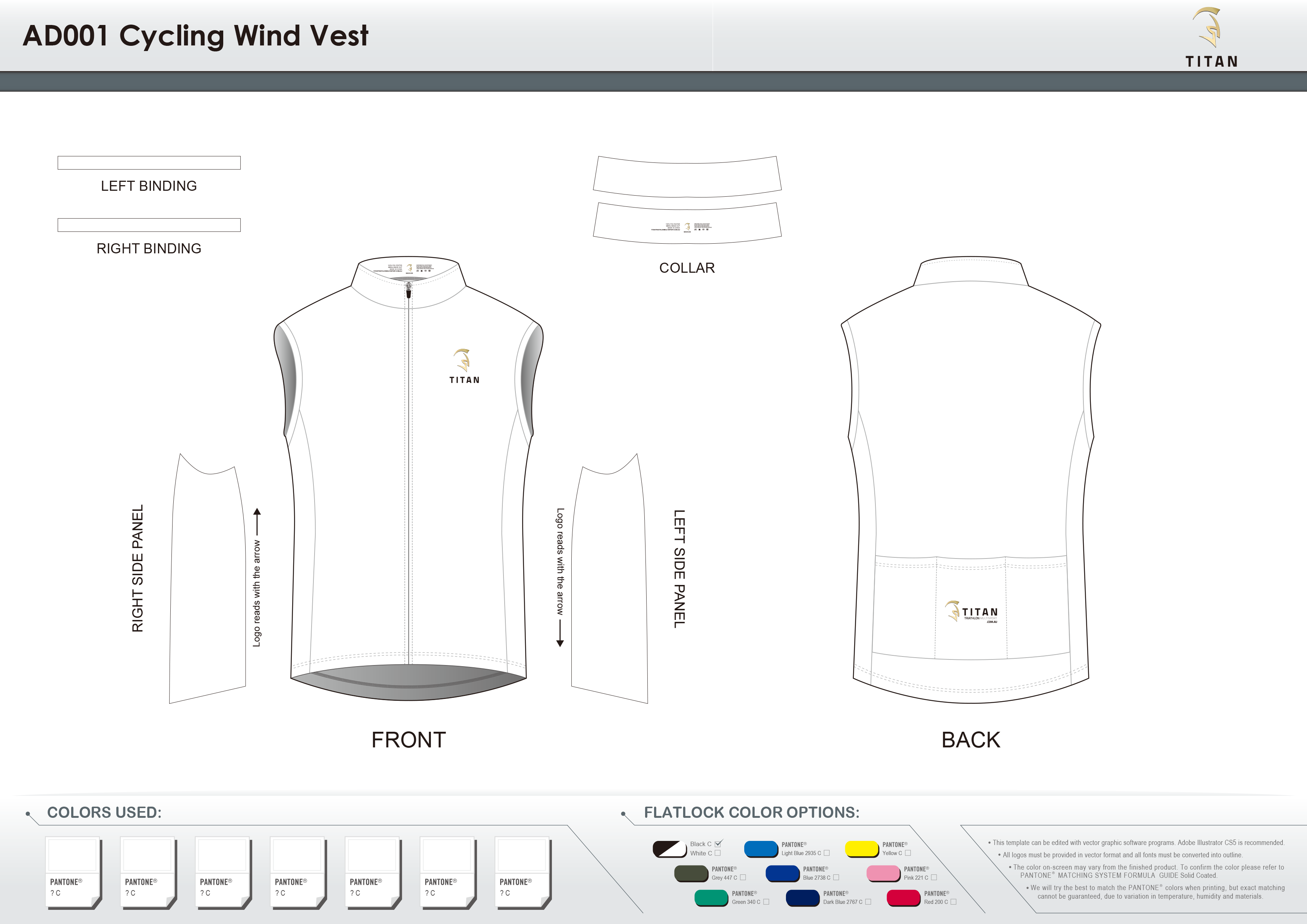AD001 Cycling Wind Vest