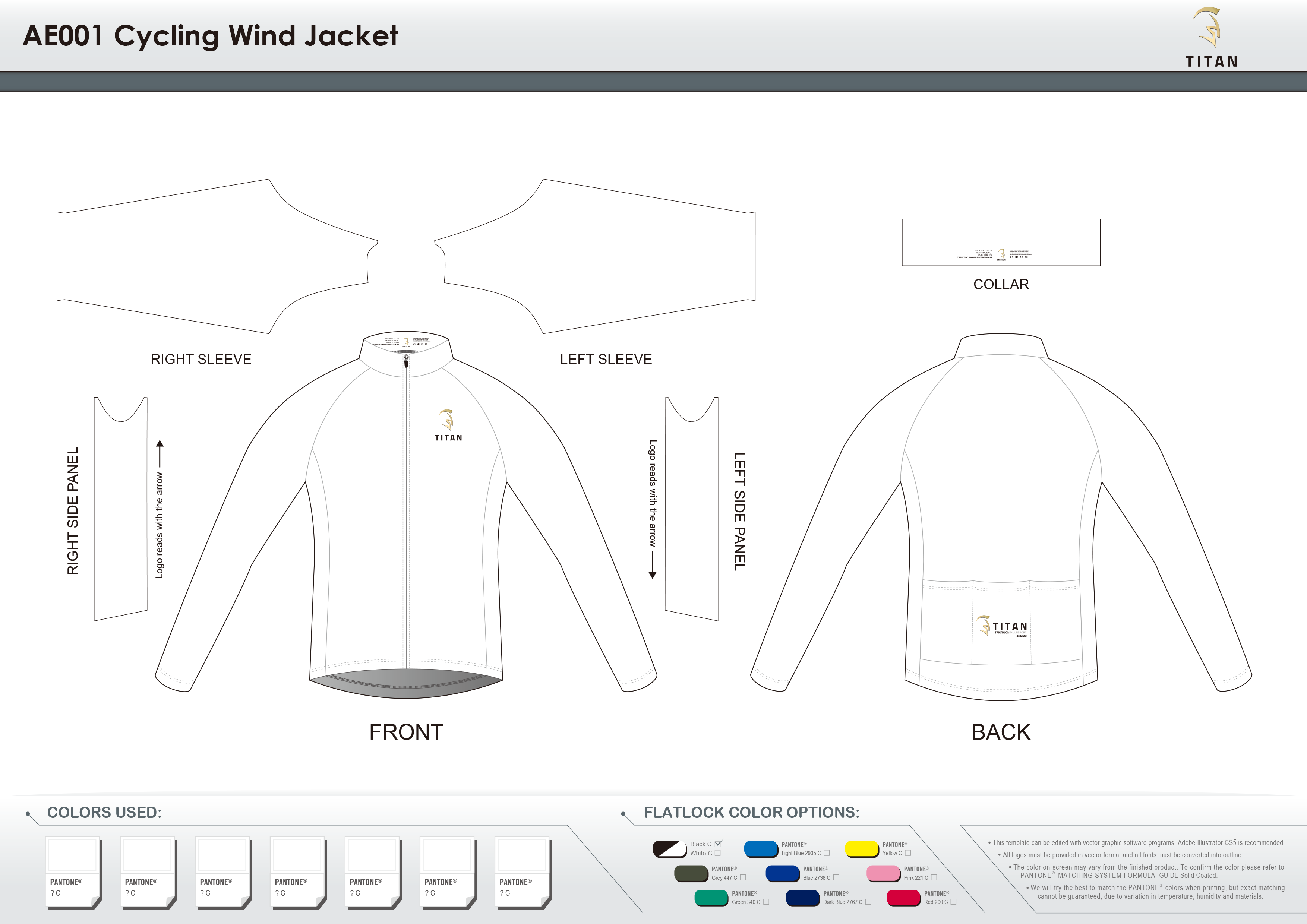 AE001 Cycling Wind Jacket