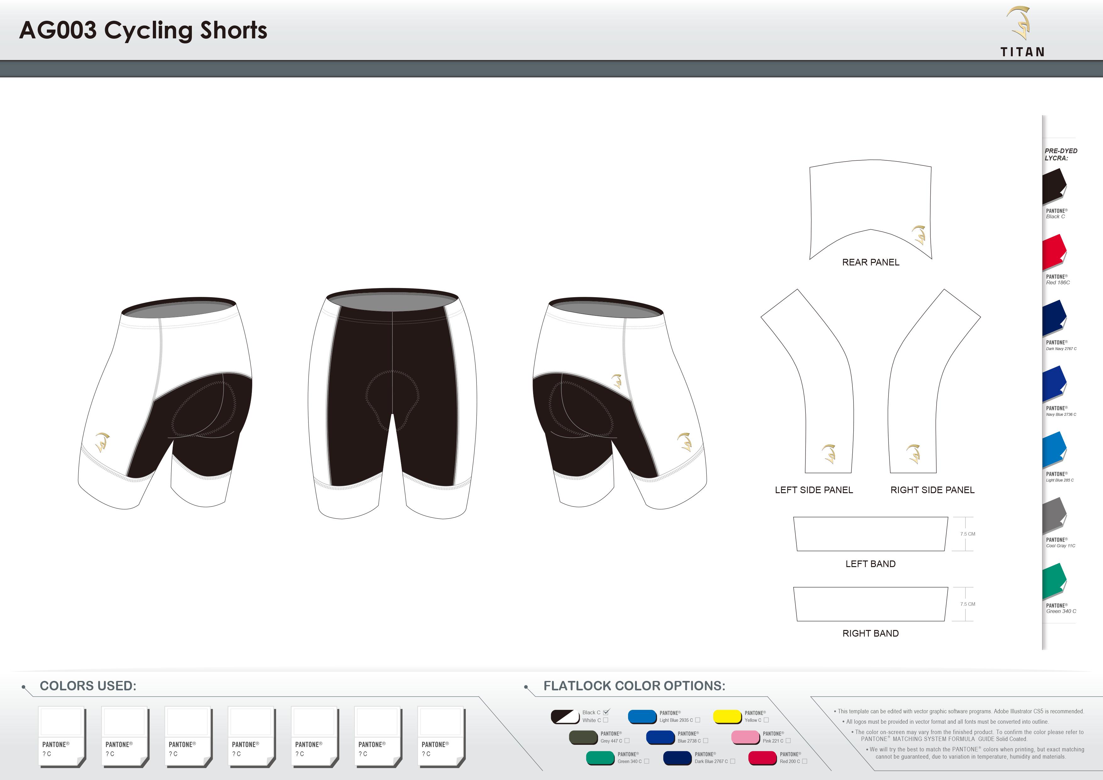 AG003 Cycling Shorts