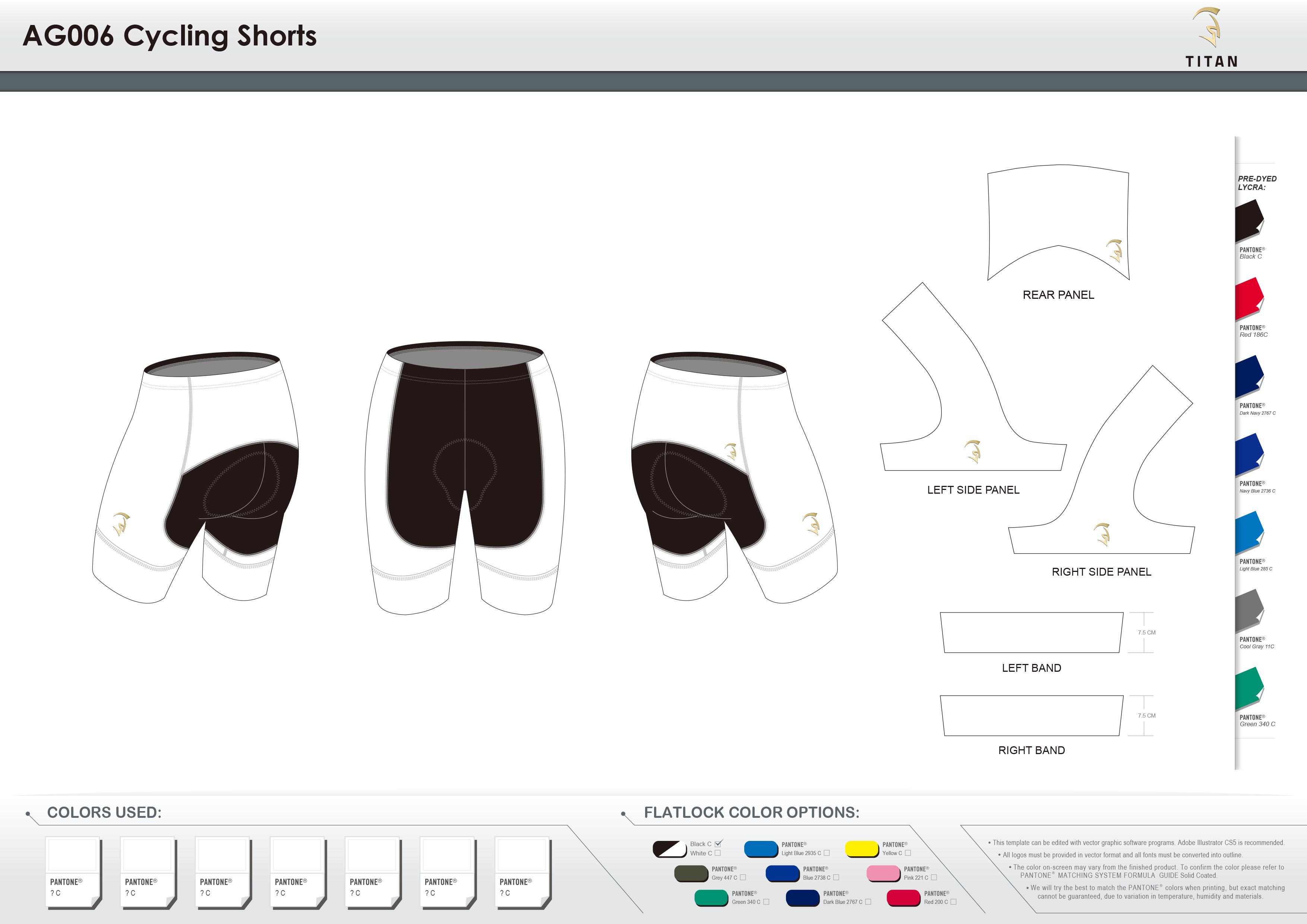 AG006 Cycling Shorts