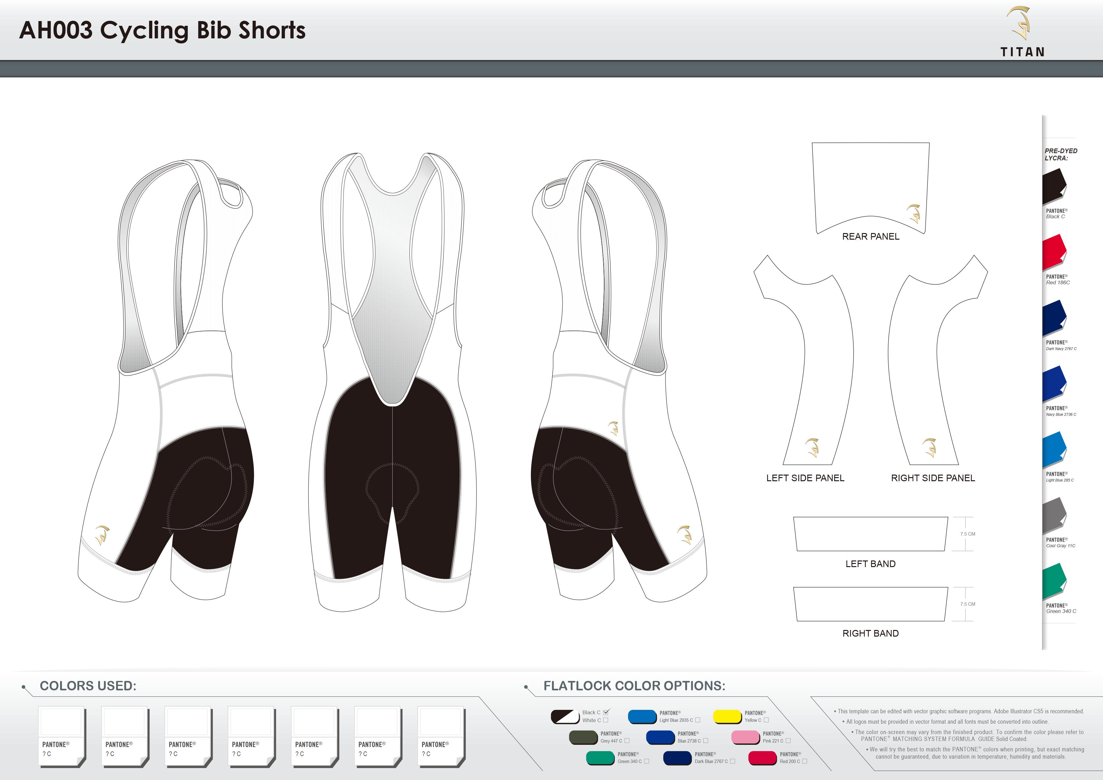 AH003 Cycling Bib Shorts