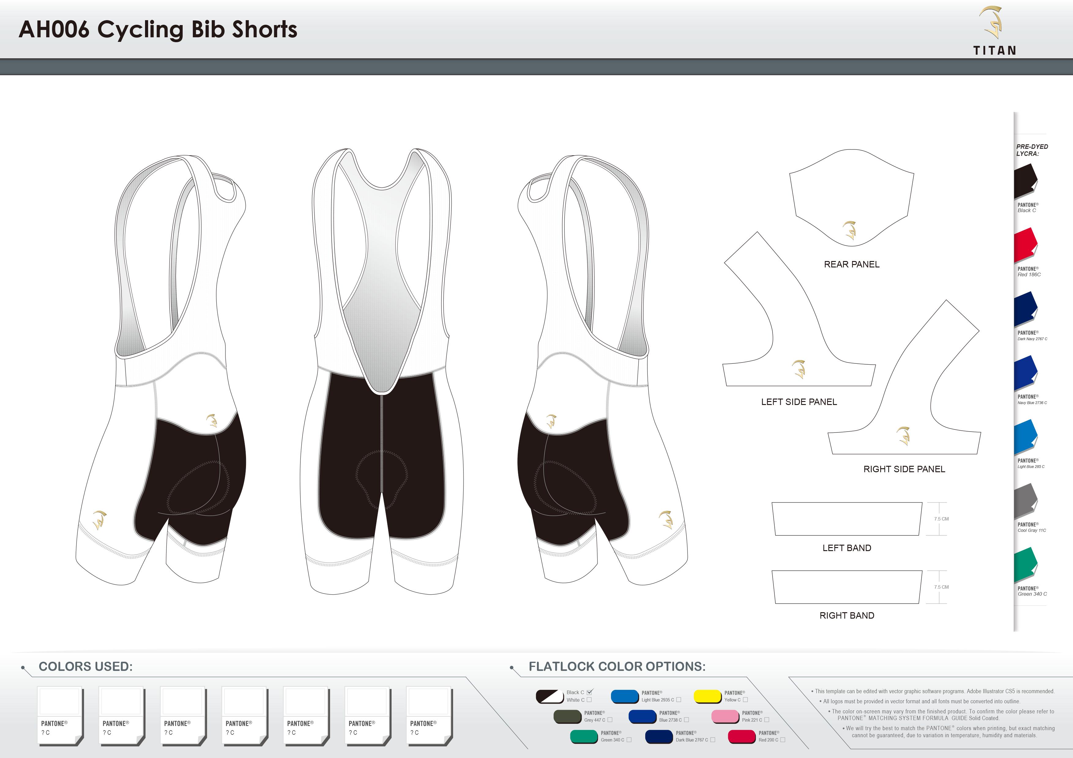 AH006 Cycling Bib Shorts
