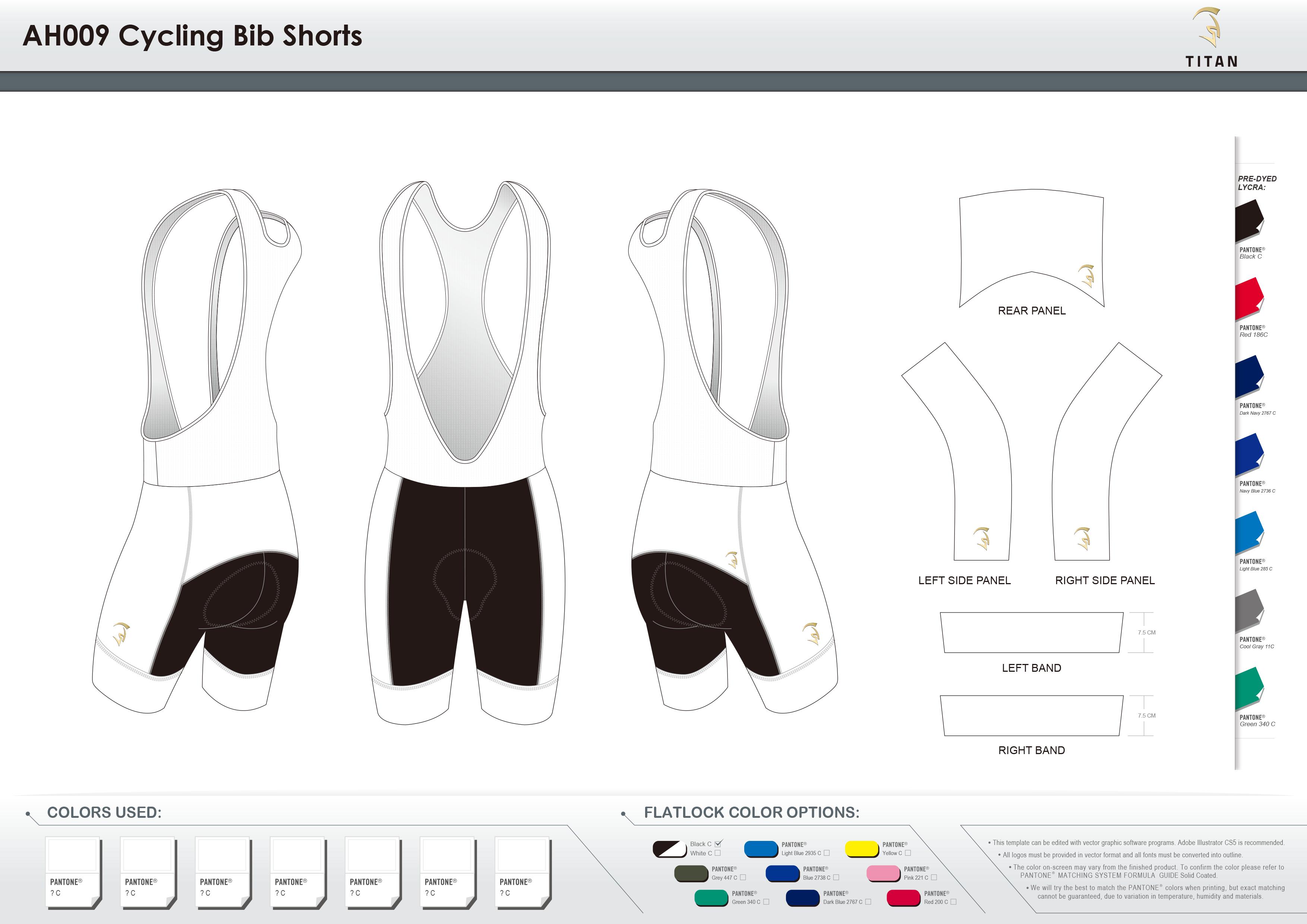 AH009 Cycling Bib Shorts