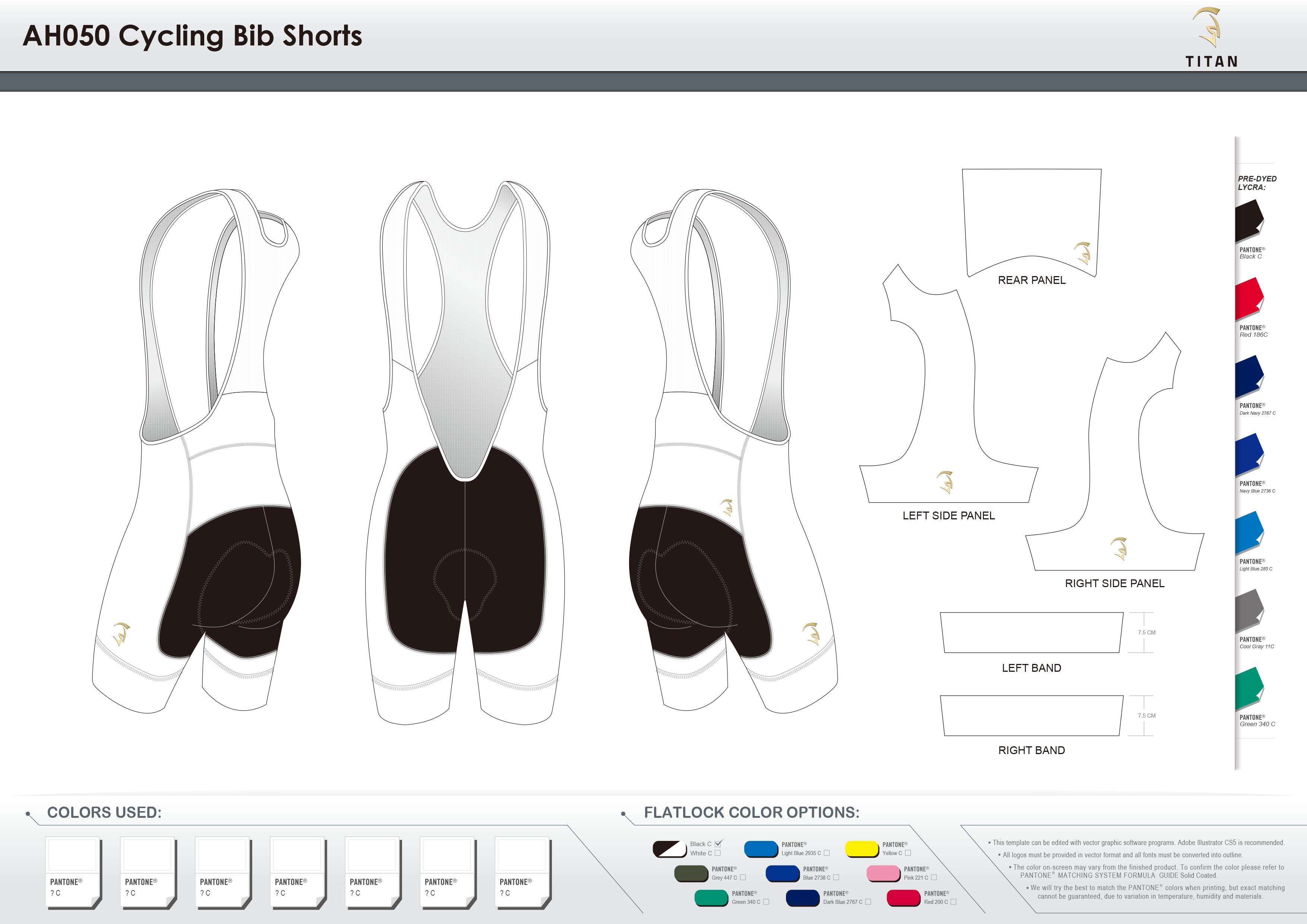 AH050 Cycling Bib Shorts