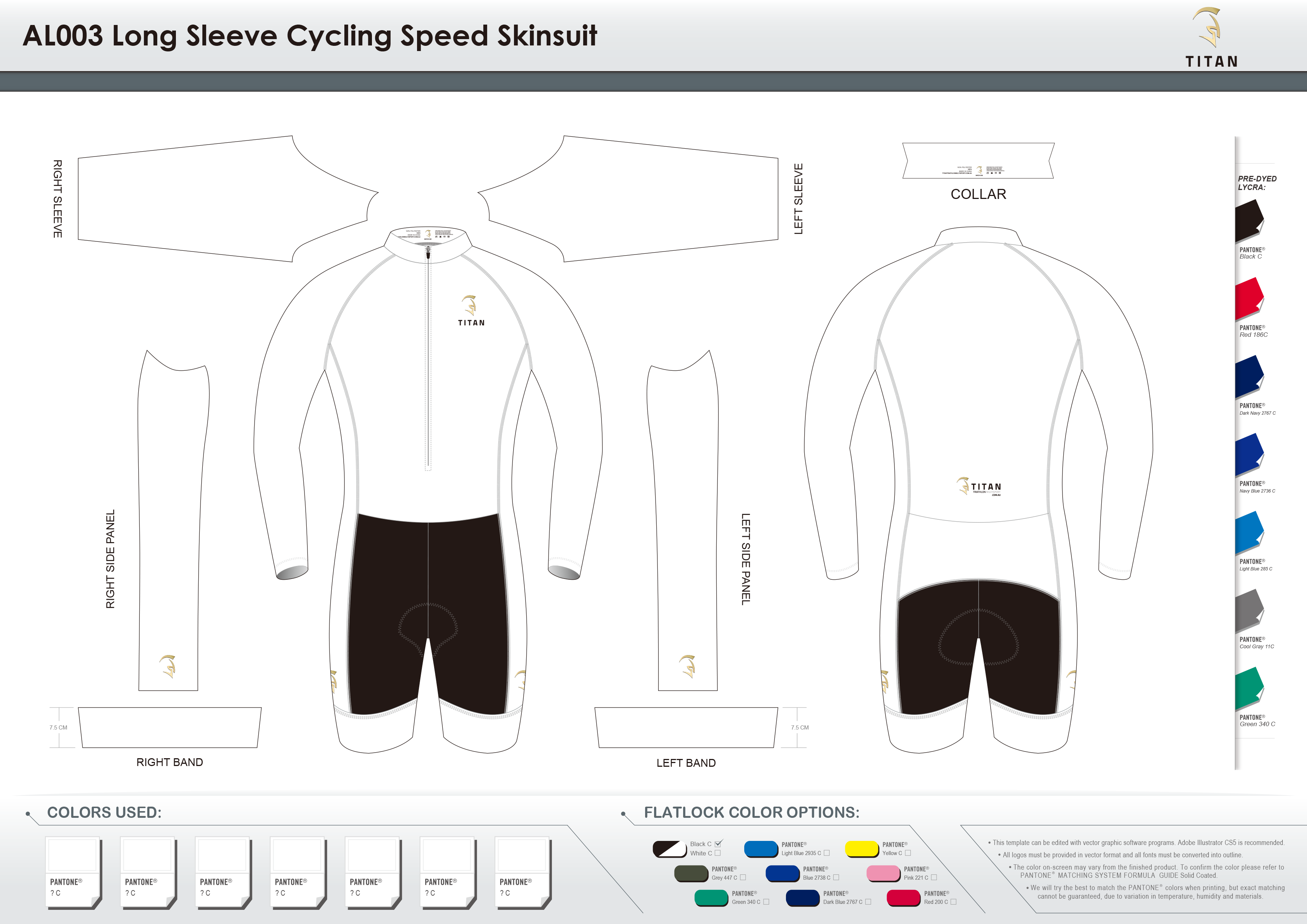 AL003 SS Cycling Speed Skinsuit