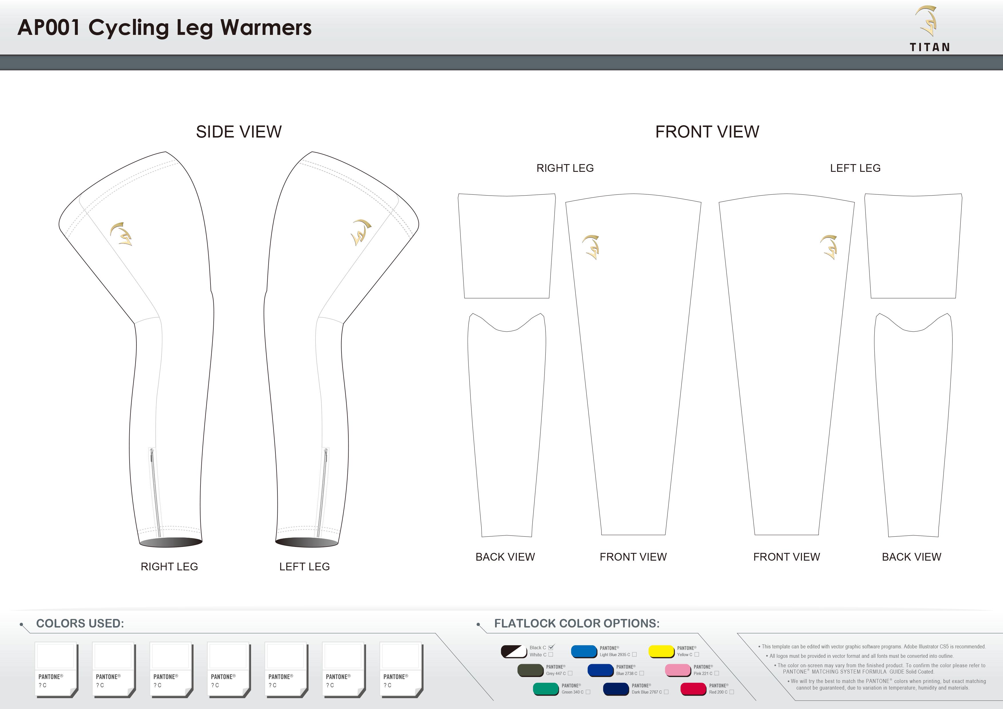 AP001 Cycling Leg Warmers