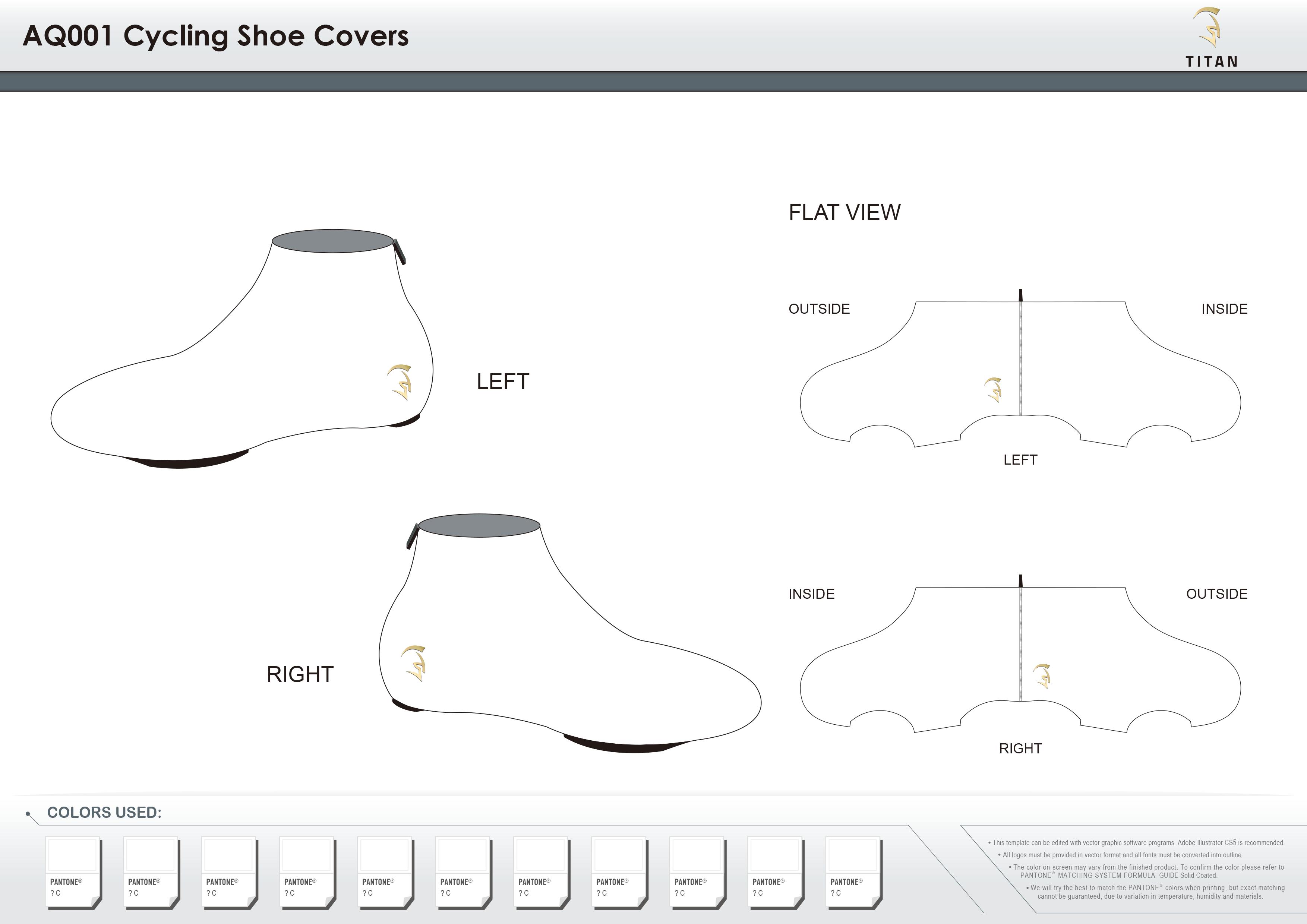 AQ001 Cycling Shoe Covers