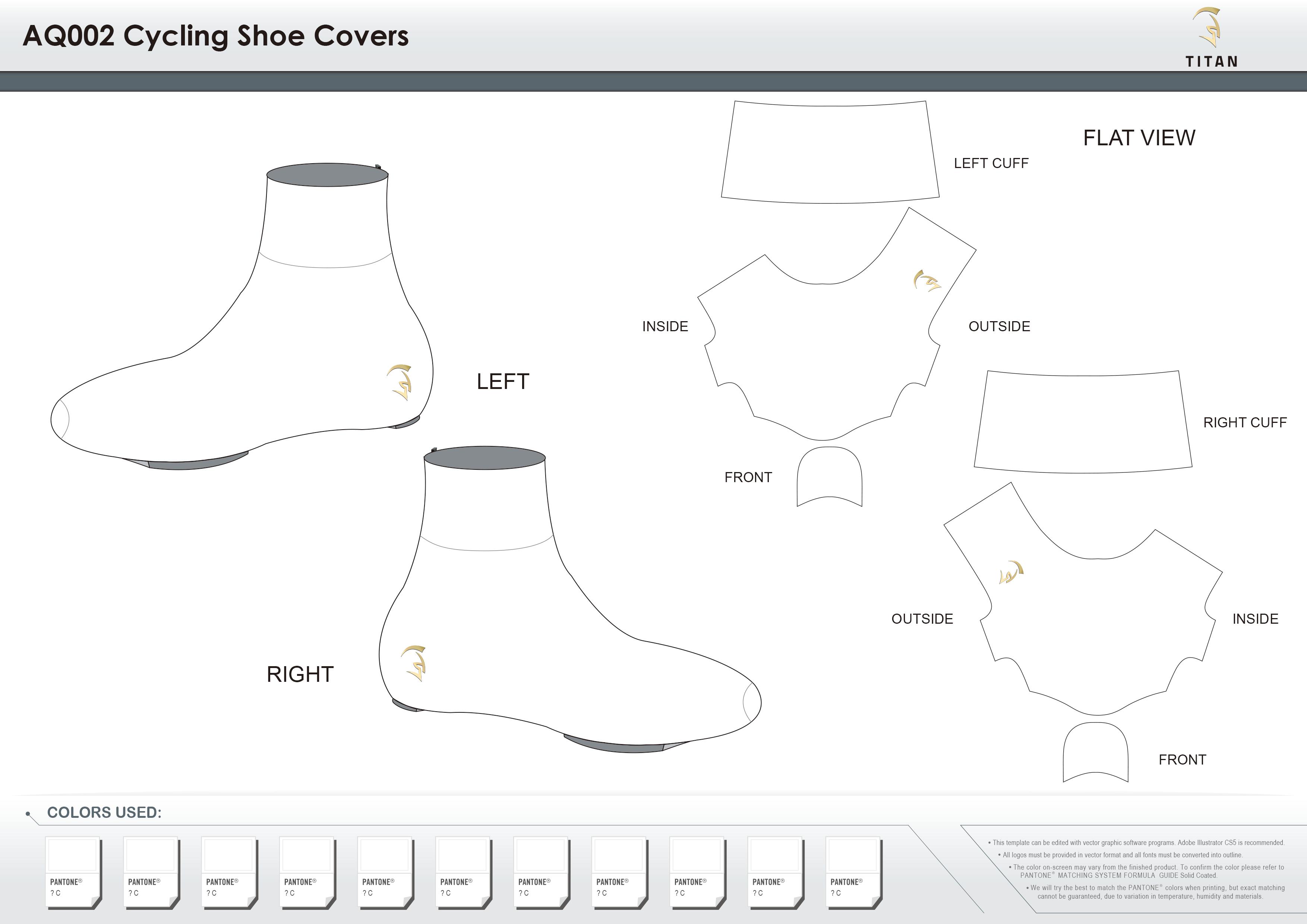 AQ002 Cycling Shoe Covers