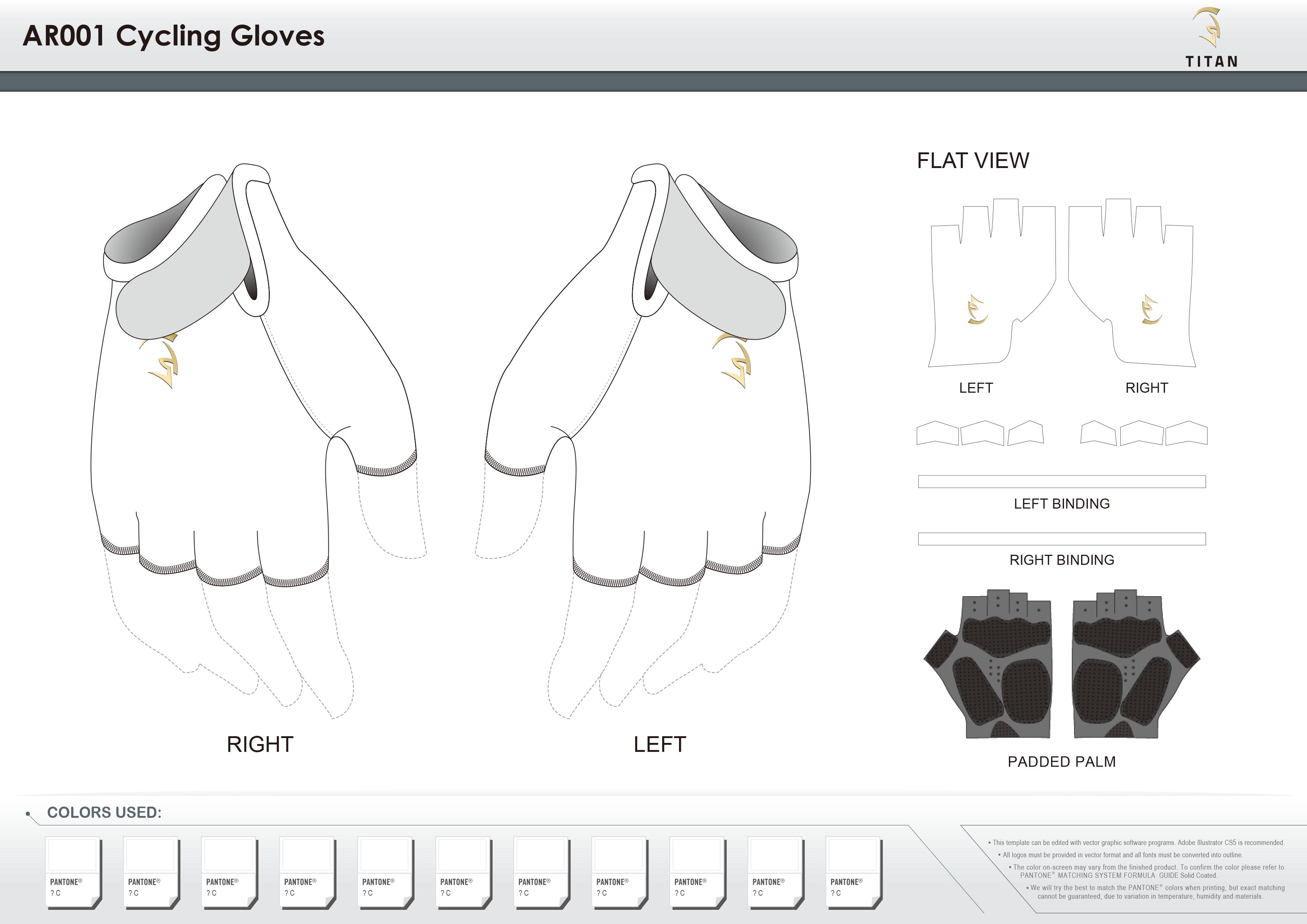 AR001 Cycling Gloves