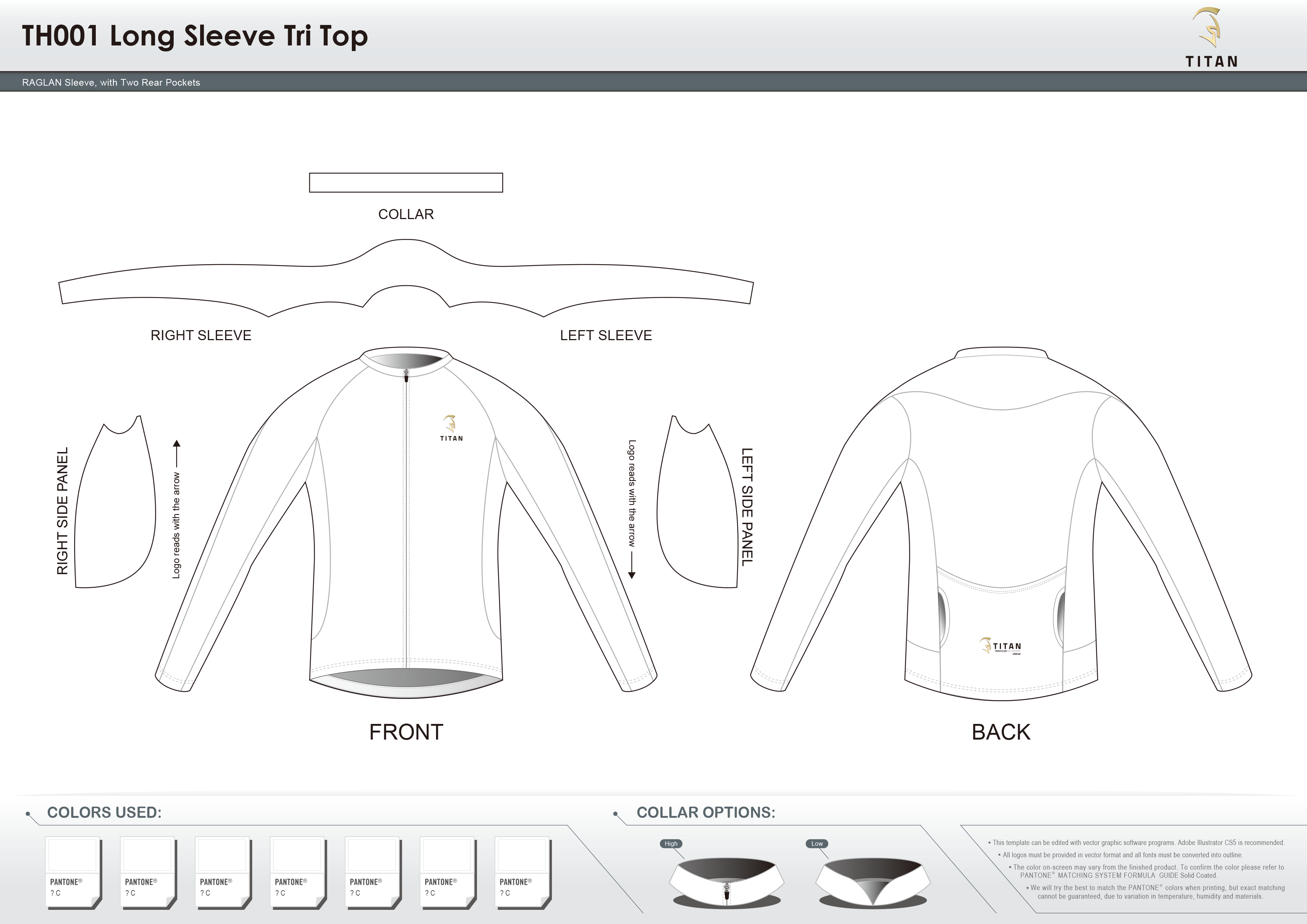 TH001 Long Sleeve Tri Top