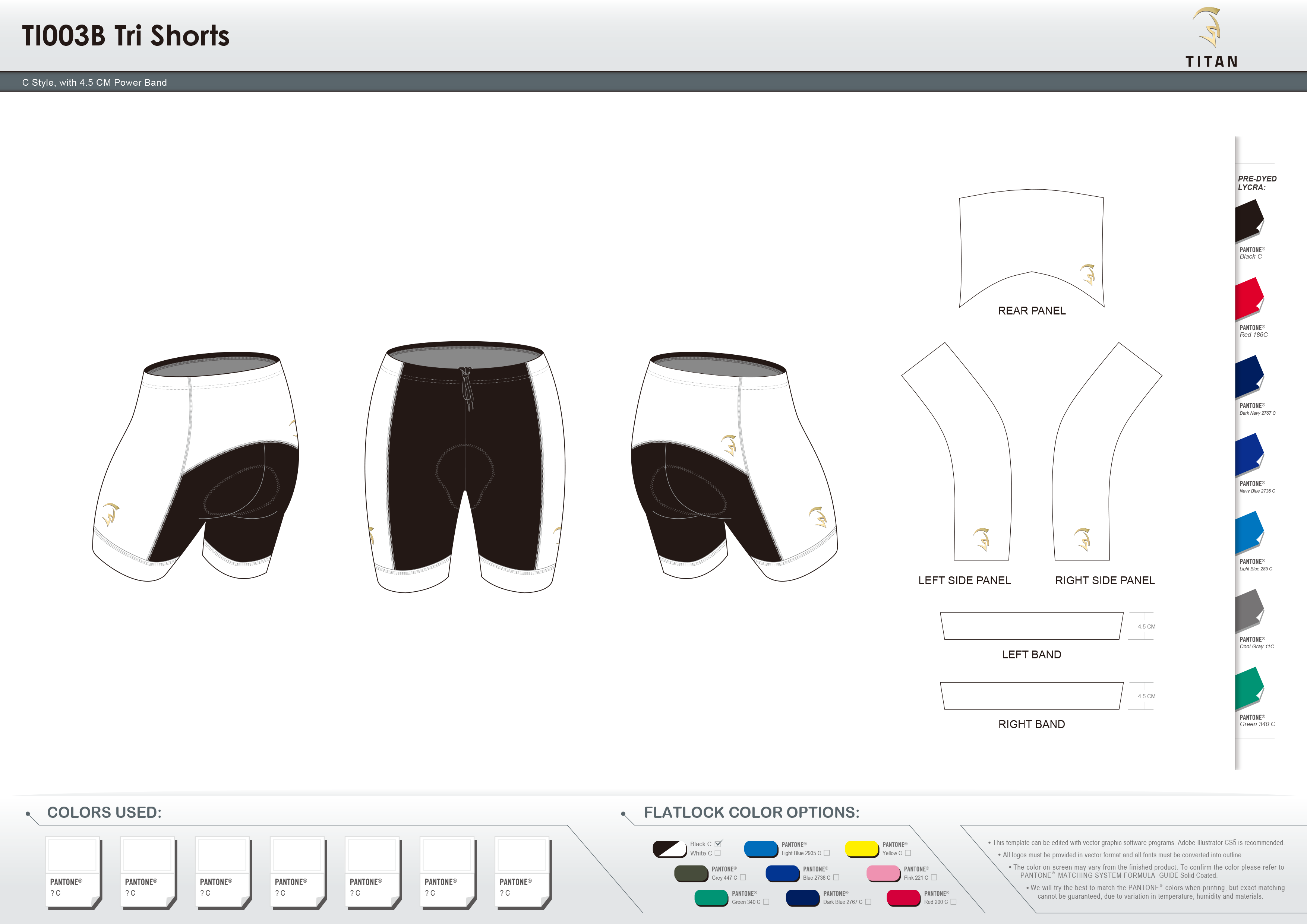 TI003B Tri Shorts