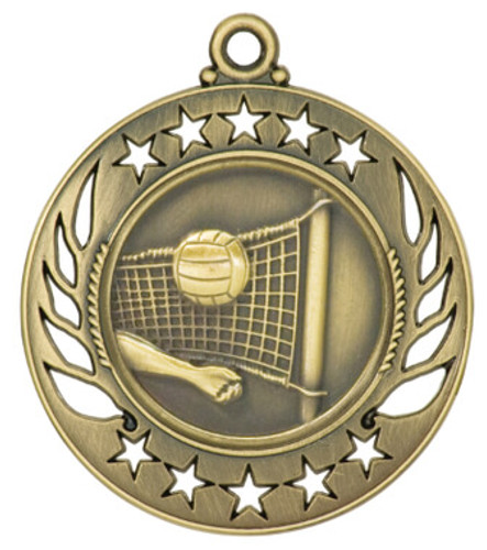 Volleyball Galaxy Medals
