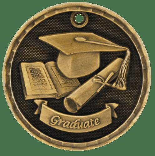 Graduate 3-D Medal