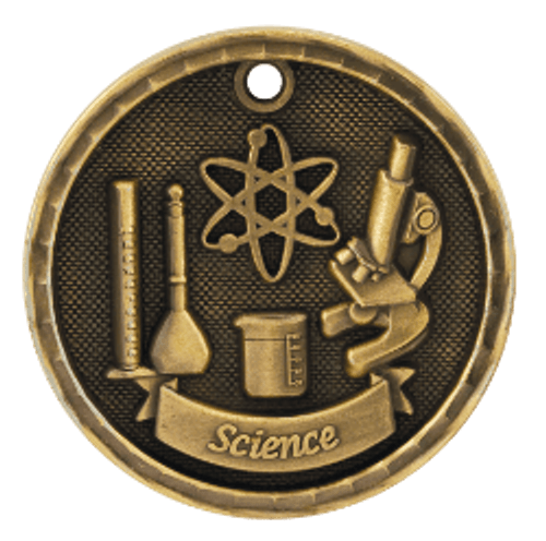 Science 3-D Medal