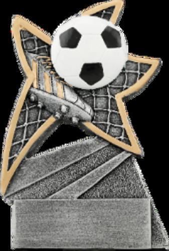 Soccer Jazz Star Resin