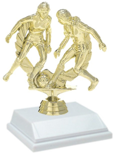 Soccer Female 6 Inch Trophy