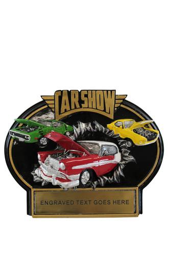NEW Car Show Burst Thru