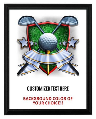 Golf Plaque