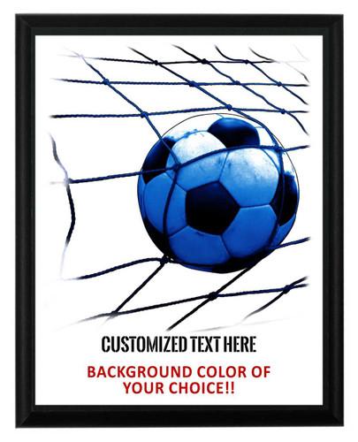 Soccer Plaque