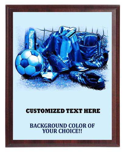 Soccer Gear Plaque