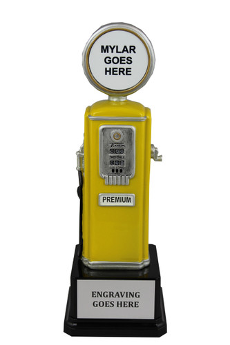 GAS PUMP - YELLOW