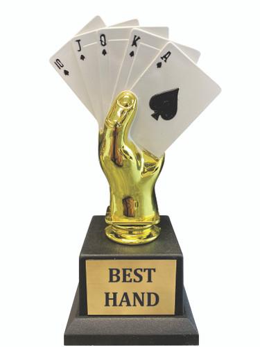 Poker Hand Trophy