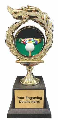 Billiards Flame Trophy