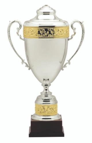 SILVER PLATED ITALIAN CUP