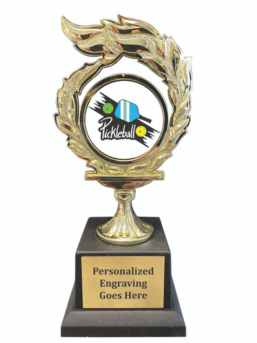 Pickleball Flame Trophy