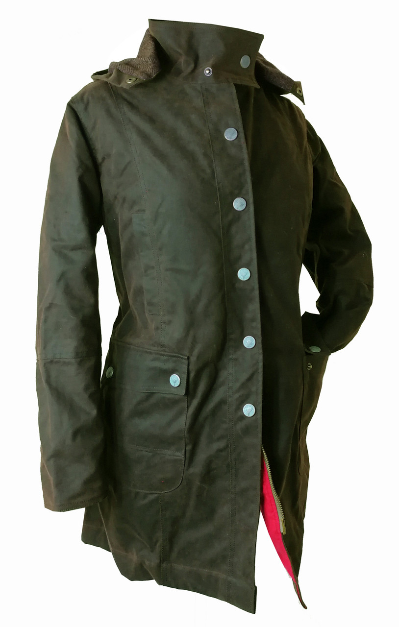 womens wax jacket