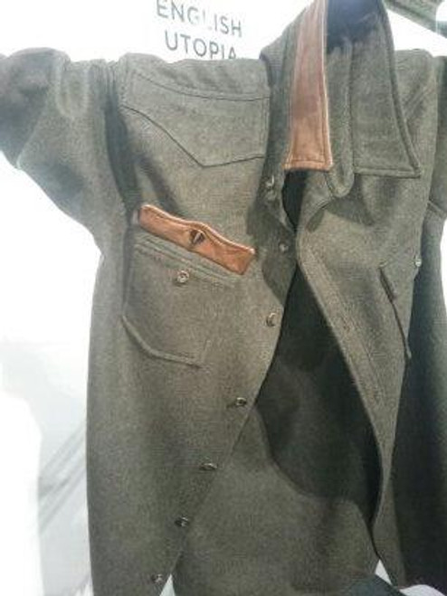 66aa08034 Mens 'The British Alpine' Green CPO Jacket