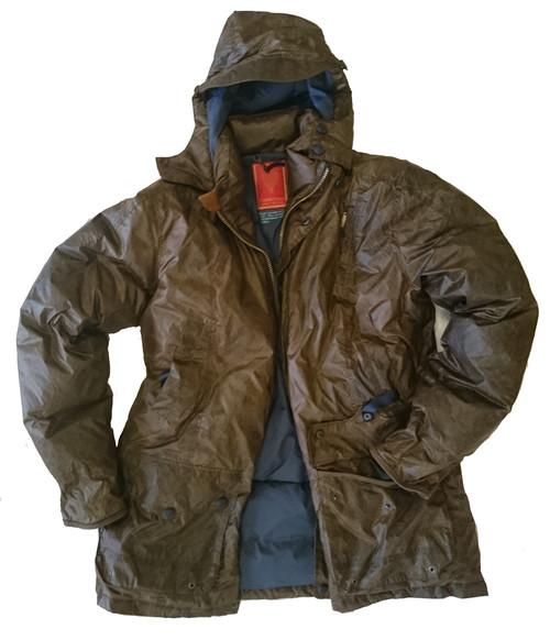 Mens 'Kelsher' Tan Waterproof Goose Down Jacket