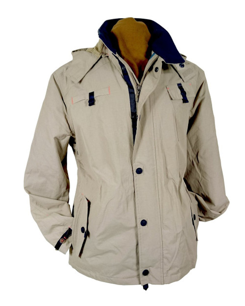 Mens 'Right-to-Roam' Waterproof Cotton Jacket