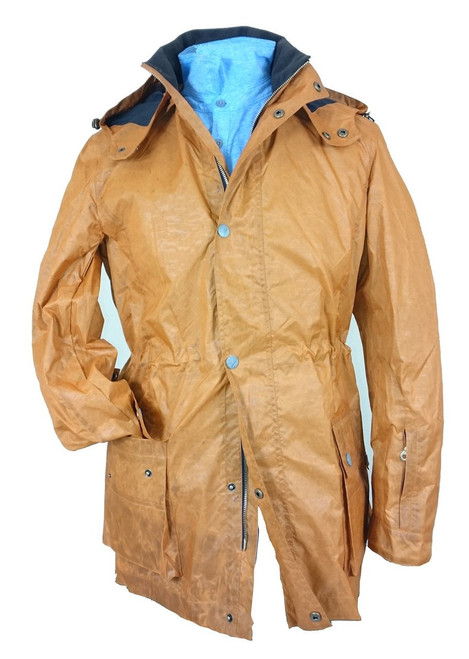 Mens 'Scurboga' Burnt Orange Lightweight Coat