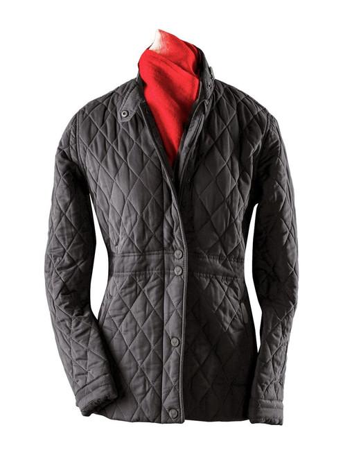 Womens 'Aragon' Luxury Microfibre Quilt Jacket