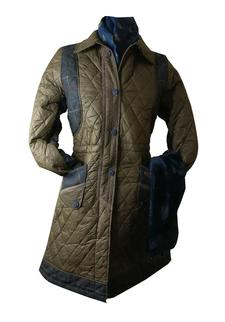 Womens 'Jennywind' 3/4 Length Quilt Jacket