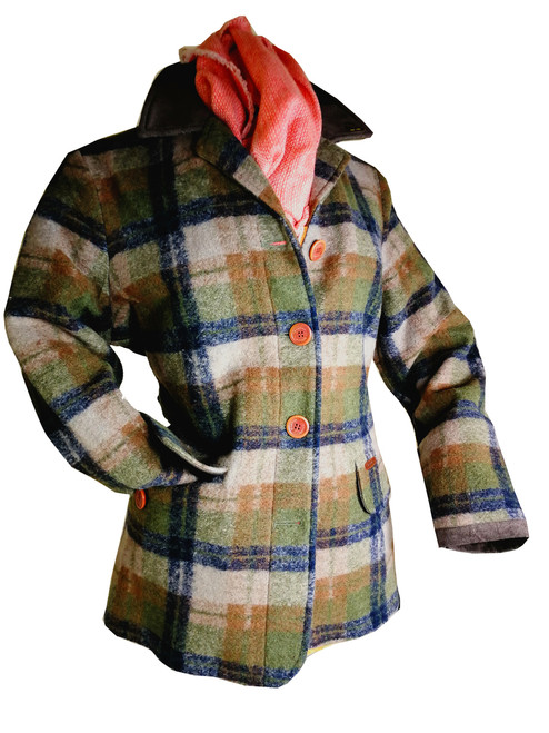Womens 'Frige' Woolen Rustic Jacket S,M,L,XL was 235