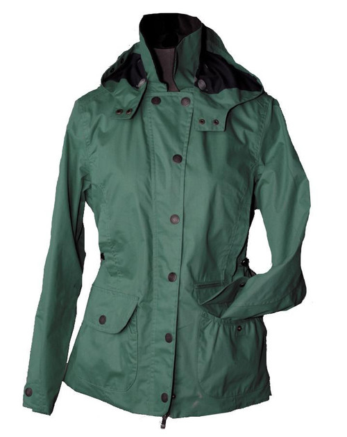 Womens Spring Green Waterproof Cotton Jacket