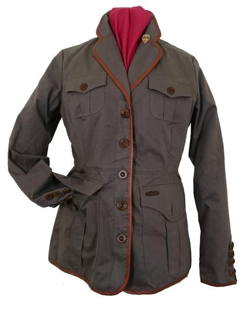Womens 'Summer Safari' Khaki Cotton Jacket